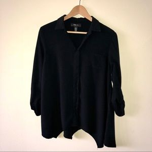 Style & Co Button Up Blouse